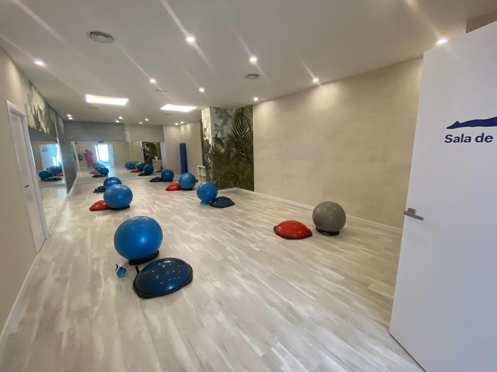 Clínica Vertèbres sala de pilates